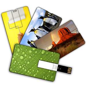 clé USB carte de visite