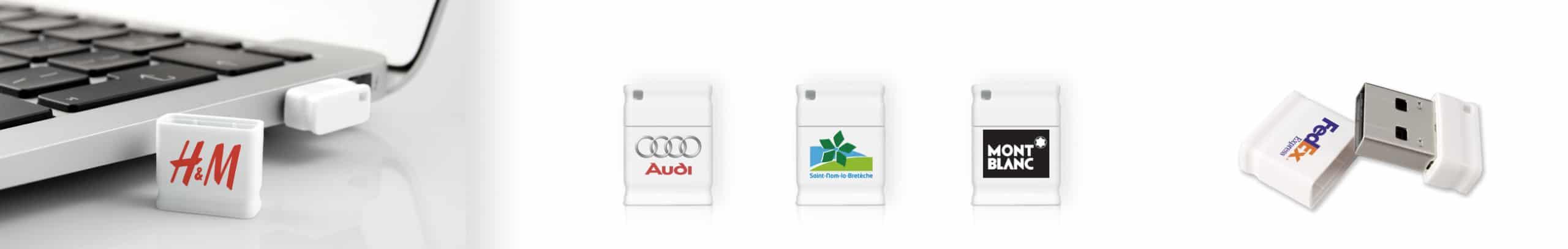 Clé USB Piccolo votre logo sur une micro clé