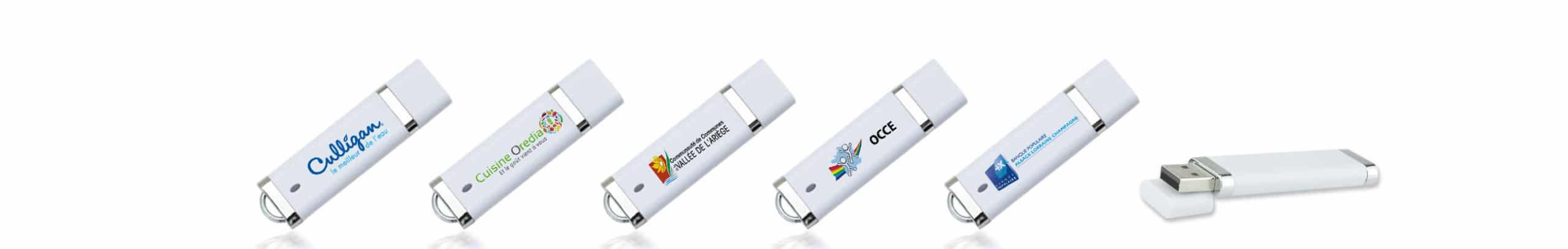 Clé USB Will avec impression couleur de votre logo