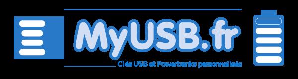 Clé USB personnalisée, MyUsb Logo