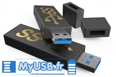 clé usb 3.0 connecteur bleu myusb