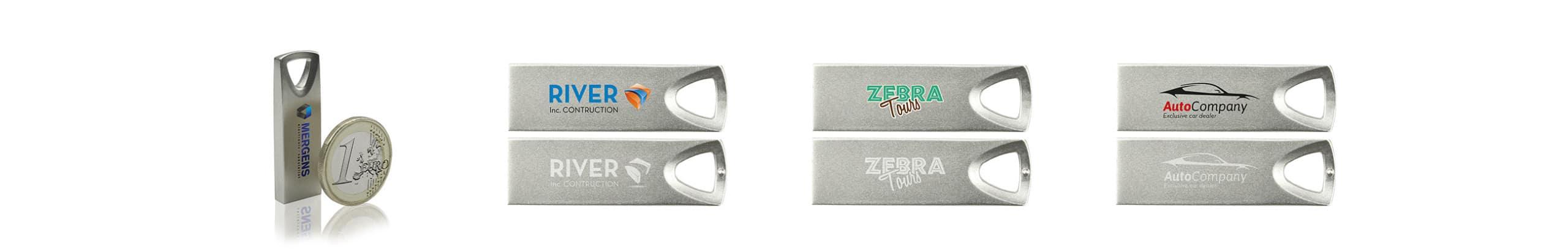 Clé USB Triangle métal