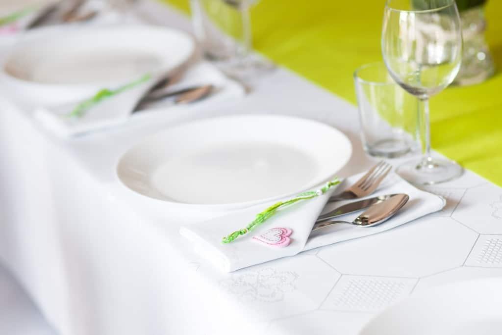 Deco de table communion